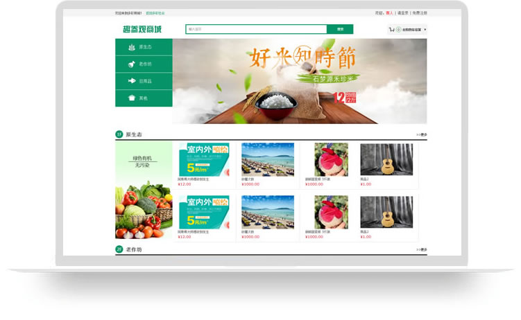 石家庄商城网站建设案例